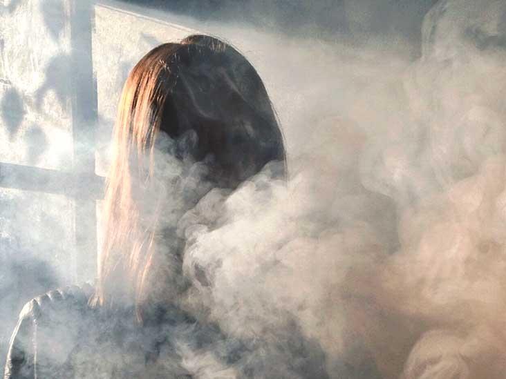 Hình ảnh khói mù mịt