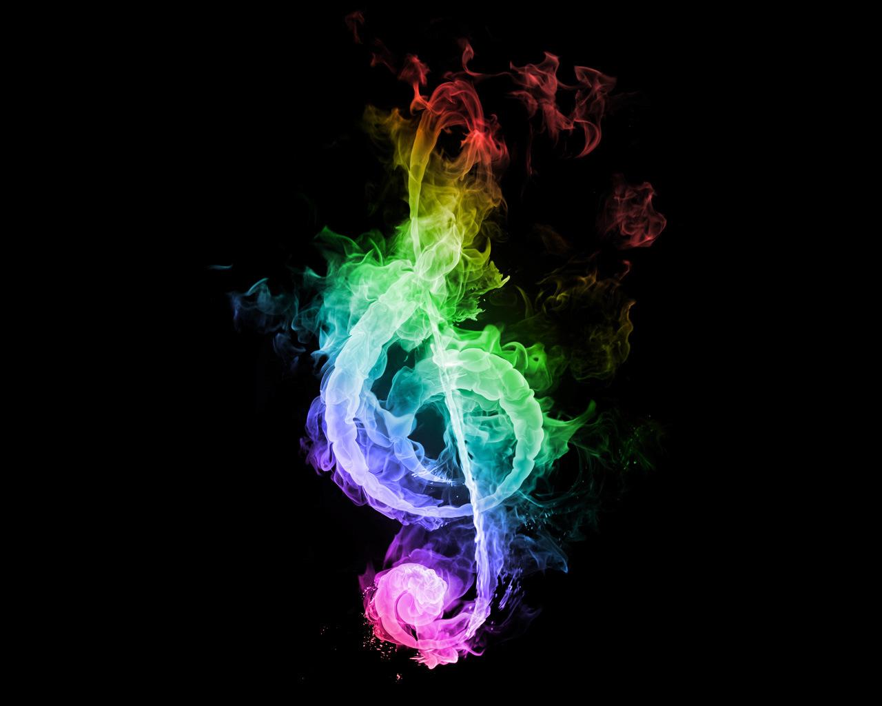 Hình ảnh khói nốt nhạc