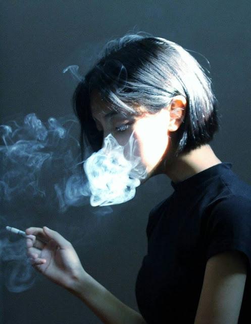Hình ảnh khói thuốc lá