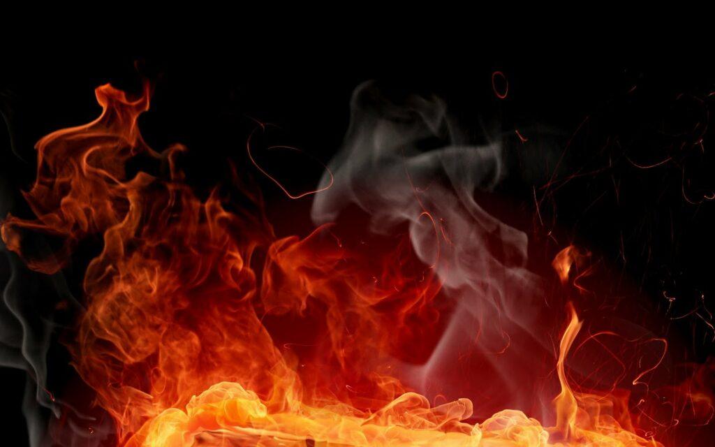 Hình ảnh khói và lửa