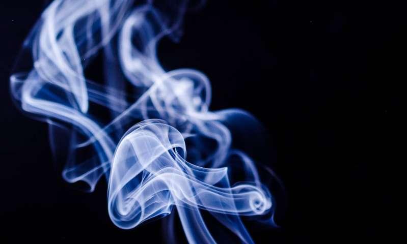Hình ảnh khói xanh đẹp