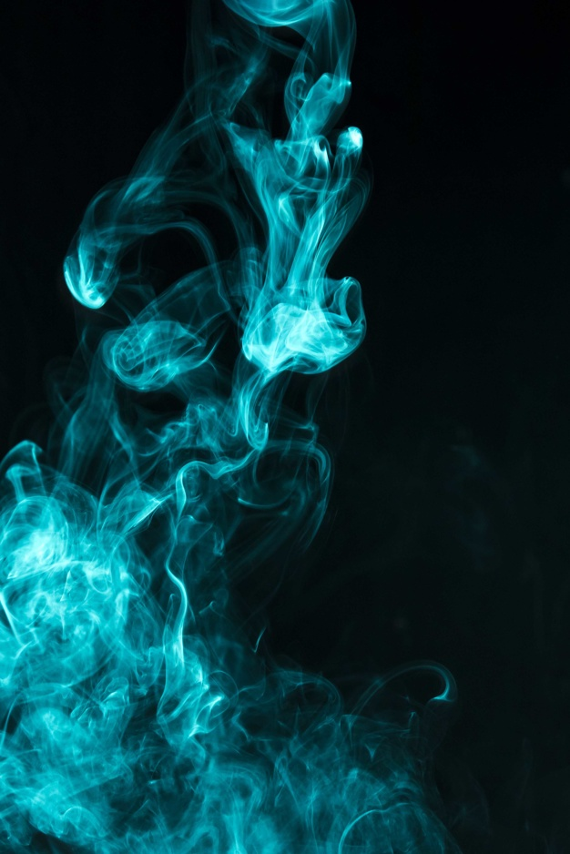 Hình ảnh khói xanh lá đẹp