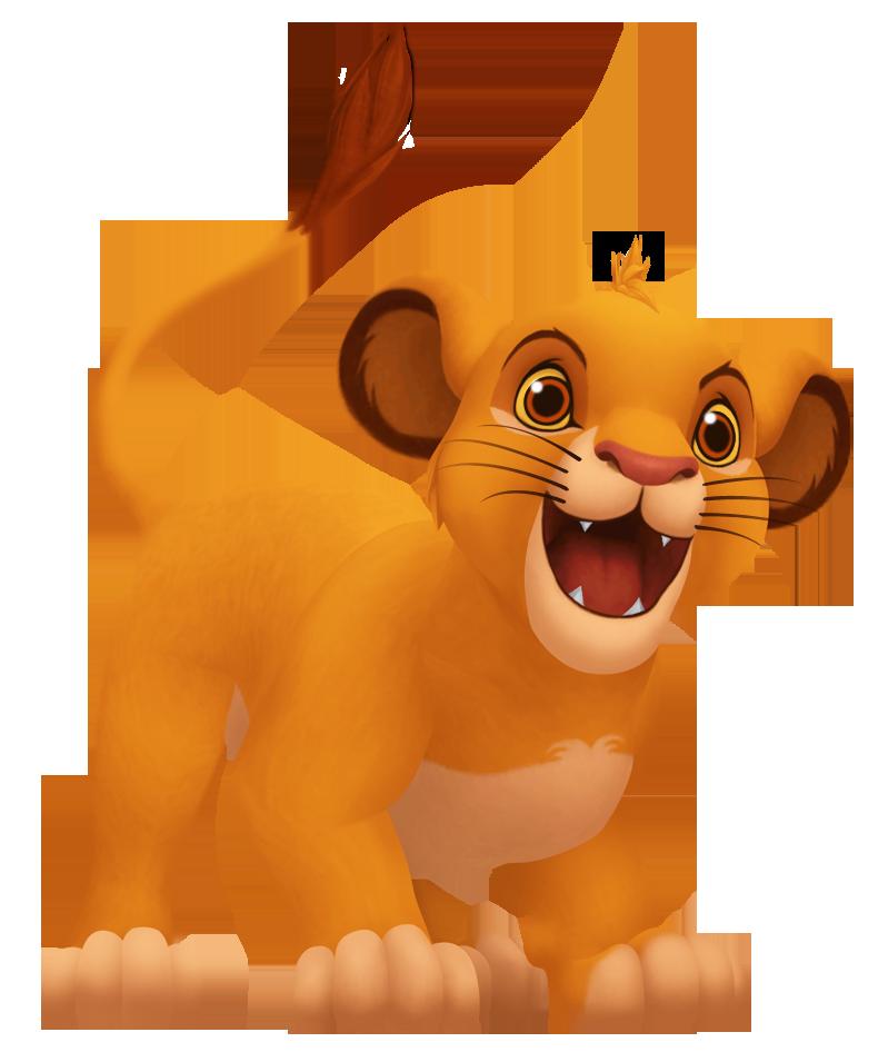Hình ảnh sư tử con hoạt hình