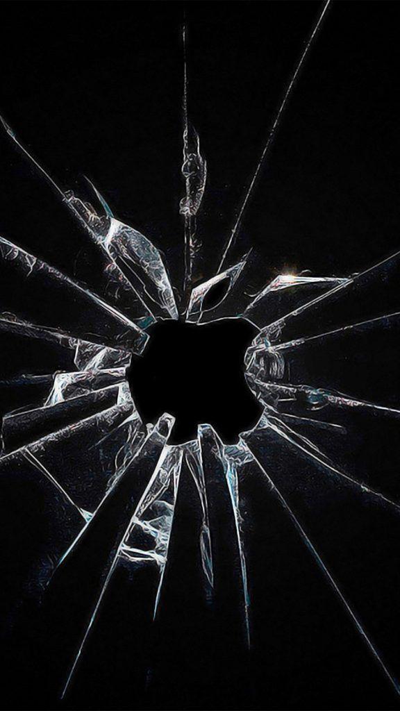 Hình nền điện thoại kính vỡ cực chất