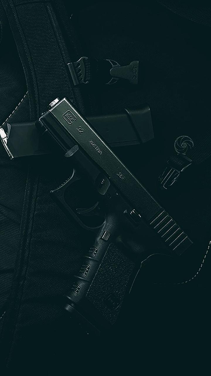 Hình nền điện thoại súng lục