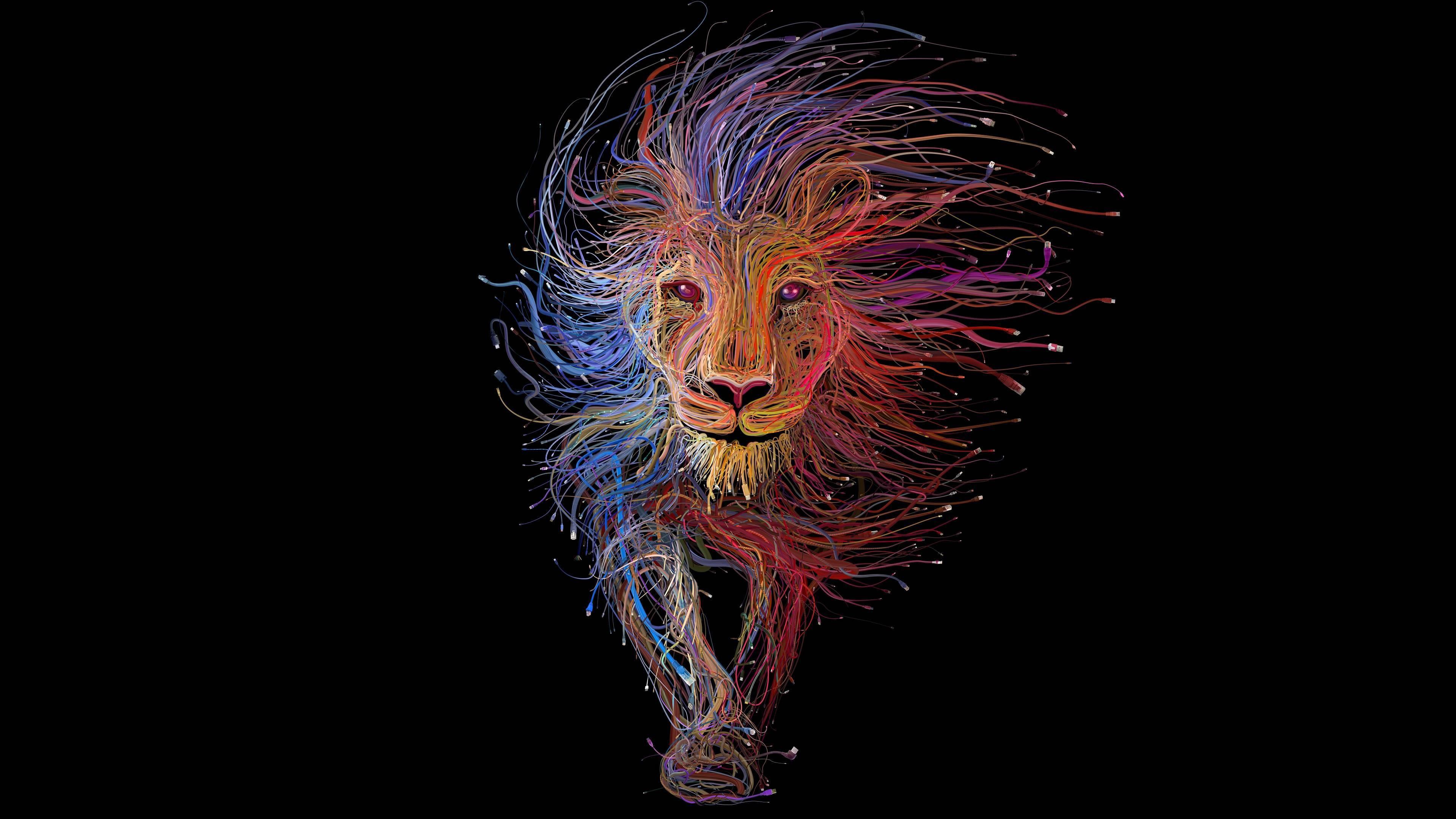 Hình nền laptop cung sư tử