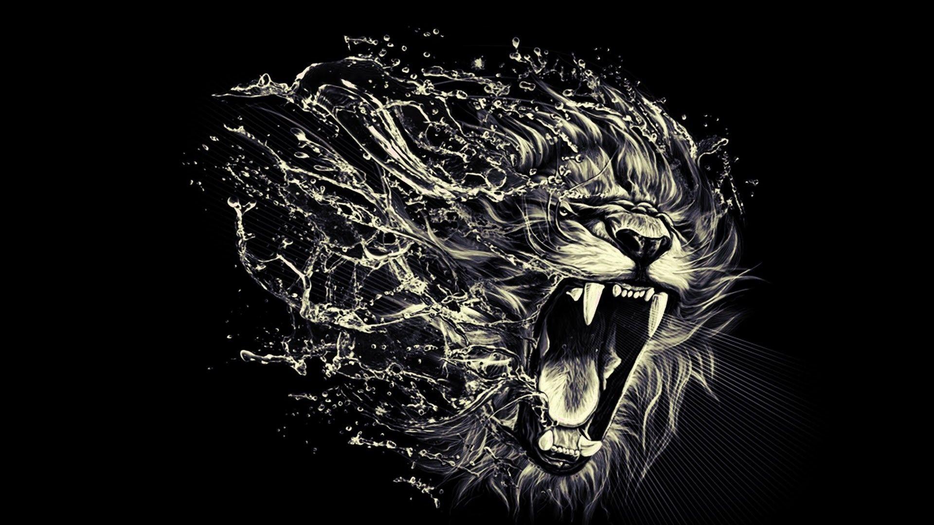 Hình nền mặt sư tử