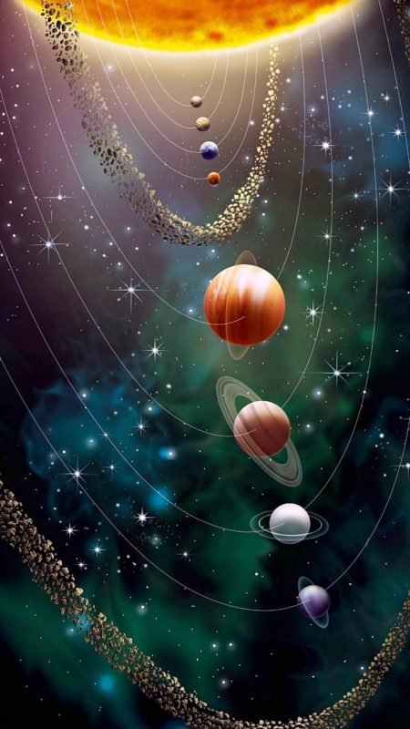 Hình nền vũ trụ đẹp mà chất cho điện thoại