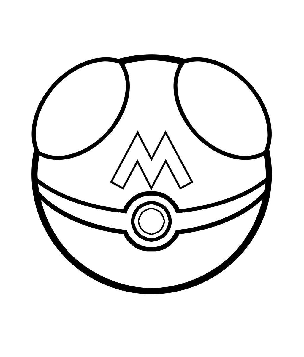 Tranh tô màu bóng bắt pokemon