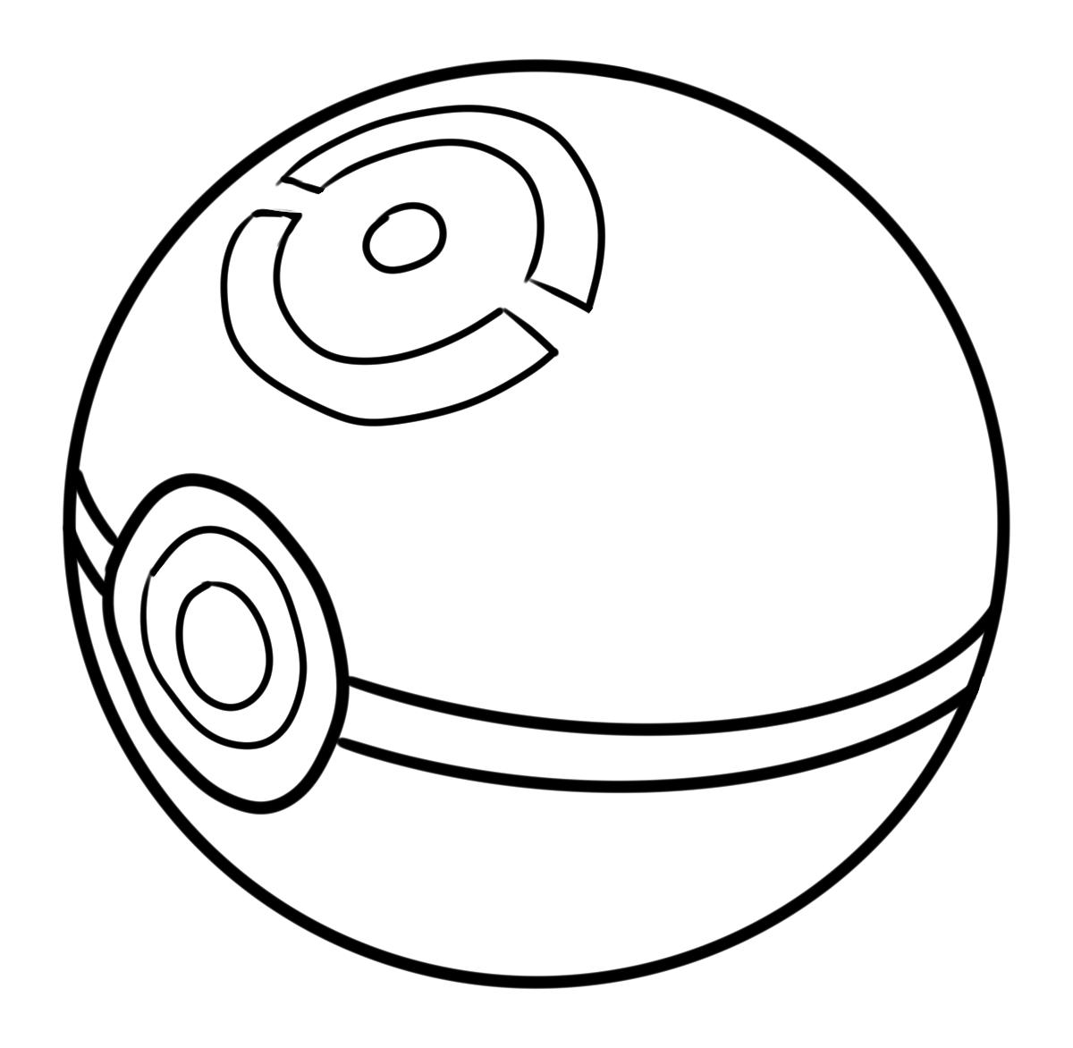 Tranh tô màu bóng pokemon