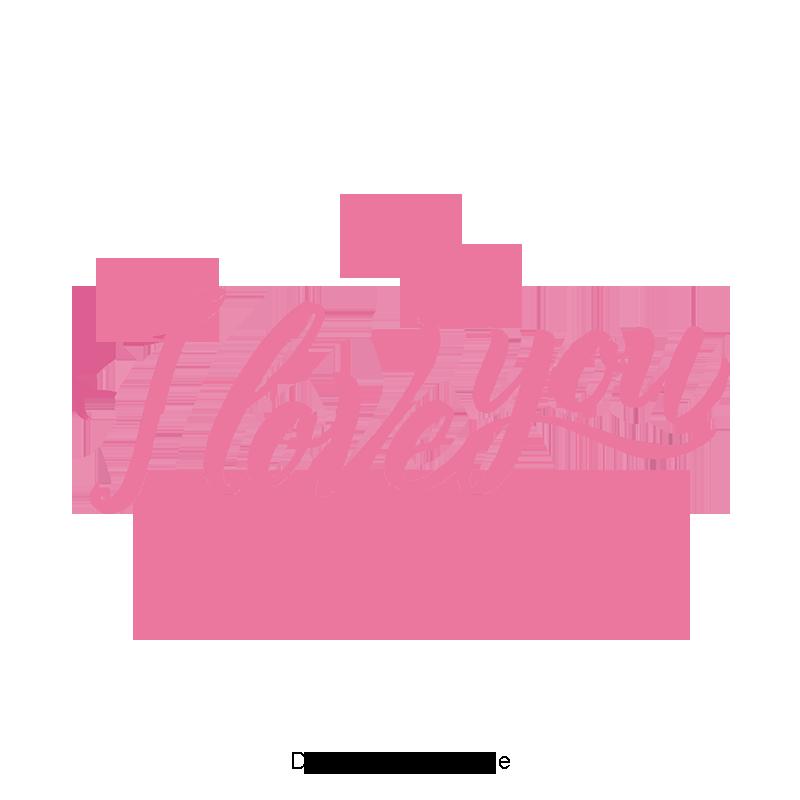 Ảnh chữ I Love You đẹp nhất