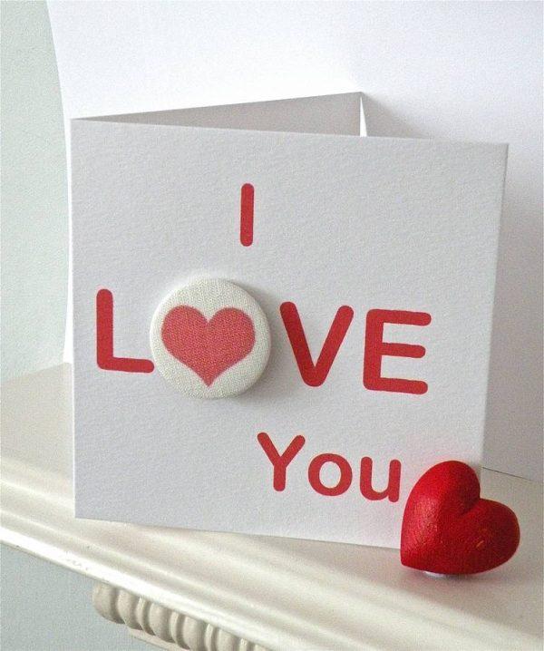 Ảnh chữ I Love You đẹp