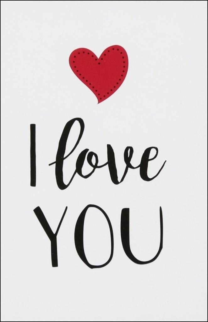 Ảnh I Love You đẹp nhất