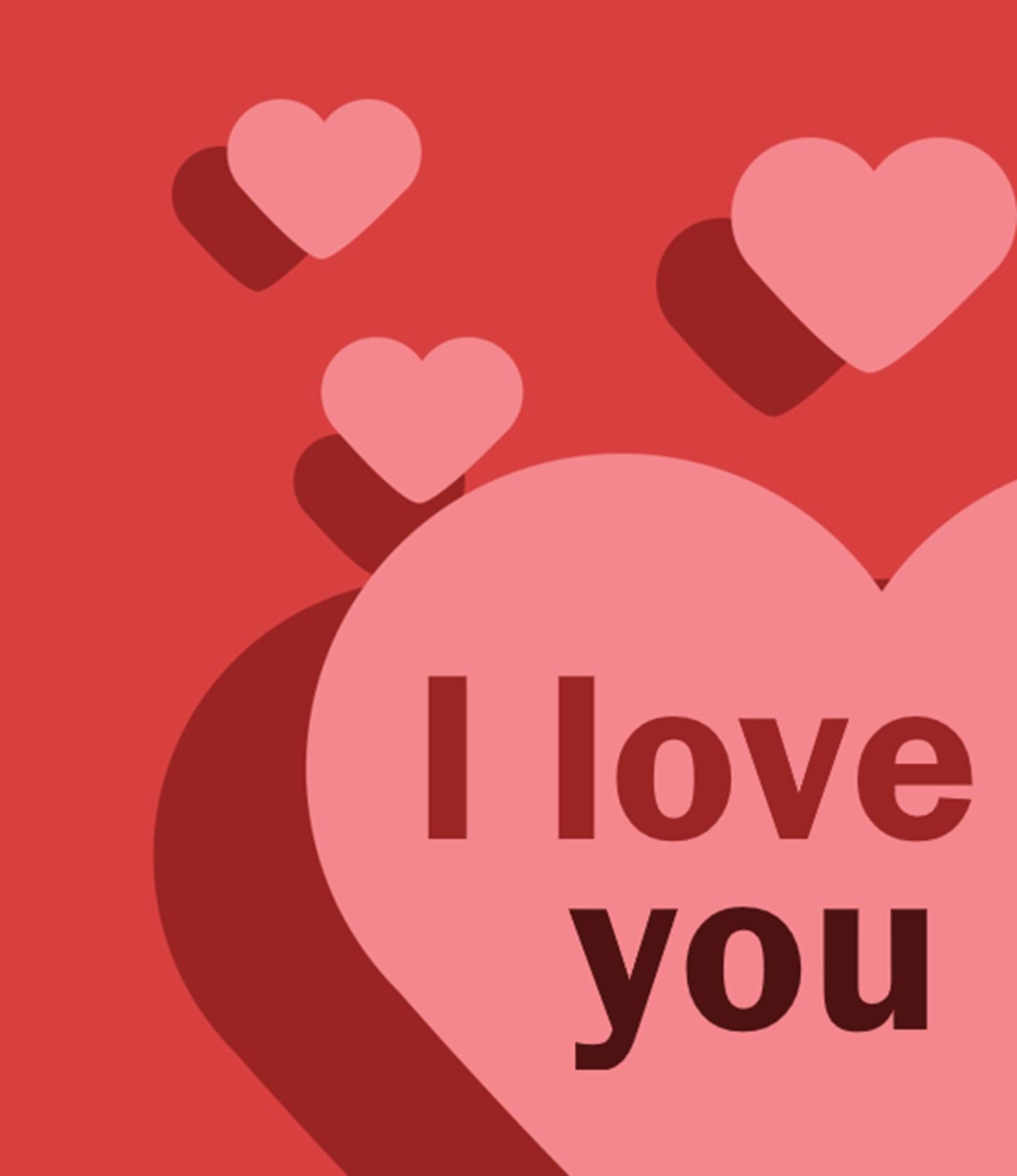 Ảnh I Love You đẹp
