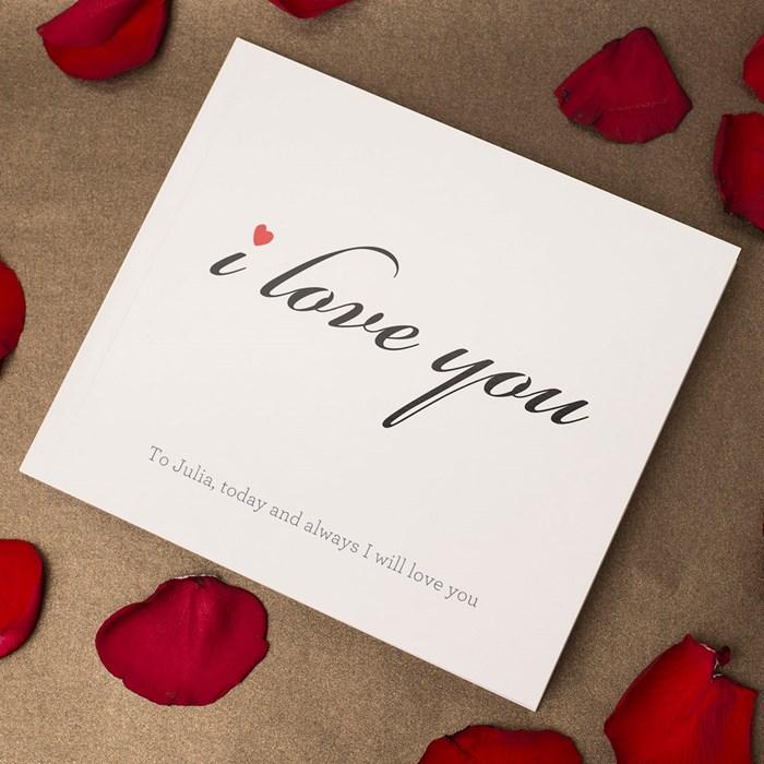 Hình ảnh chữ I Love You đẹp
