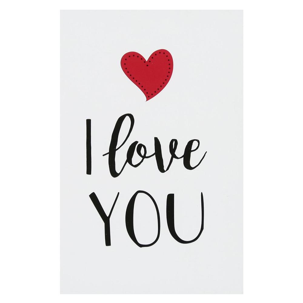 Hình ảnh chữ I Love You đơn giản đẹp nhất