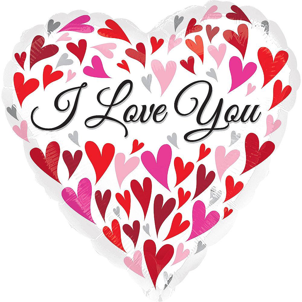 Hình ảnh chữ I Love You ngộ nghĩnh dễ thương