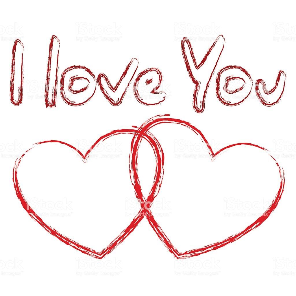 Hình ảnh chữ I Love You ngộ nghĩnh đẹp