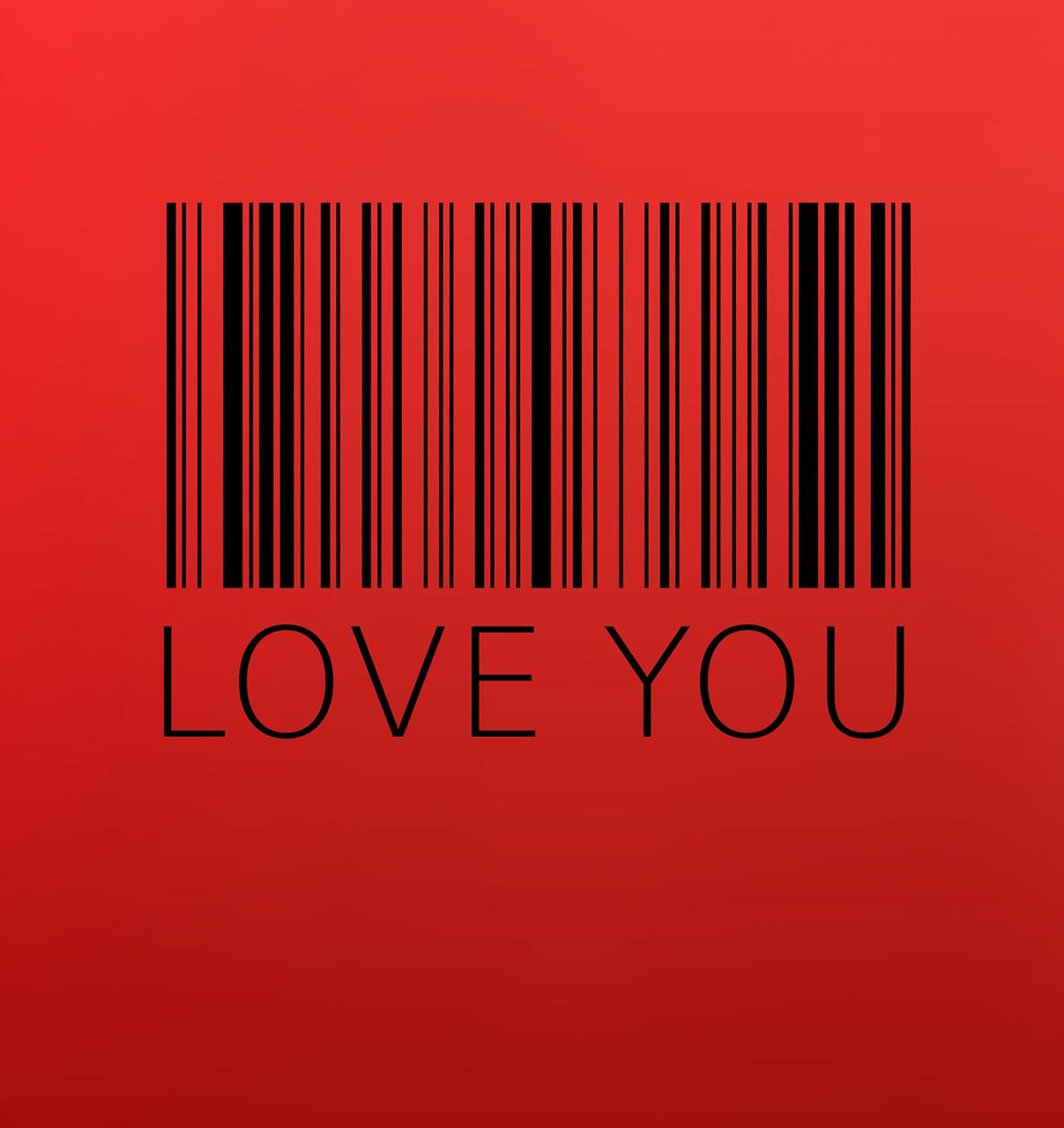 Hình ảnh chữ I Love You sáng tạo