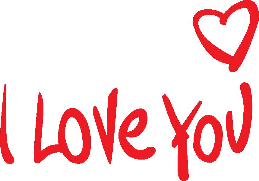 Hình ảnh chữ I Love You