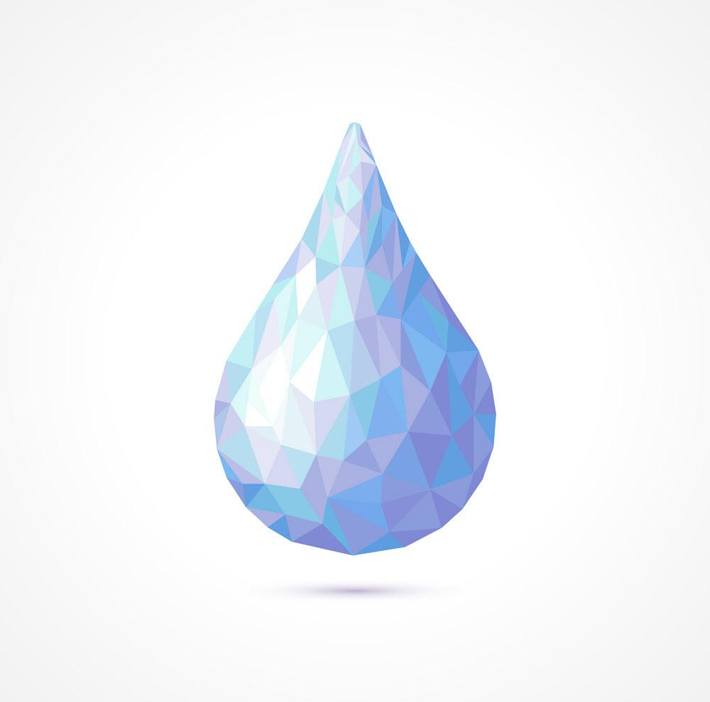 Hình ảnh giọt nước 3D cực đẹp