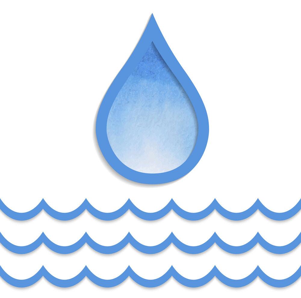Hình ảnh giọt nước đơn giản