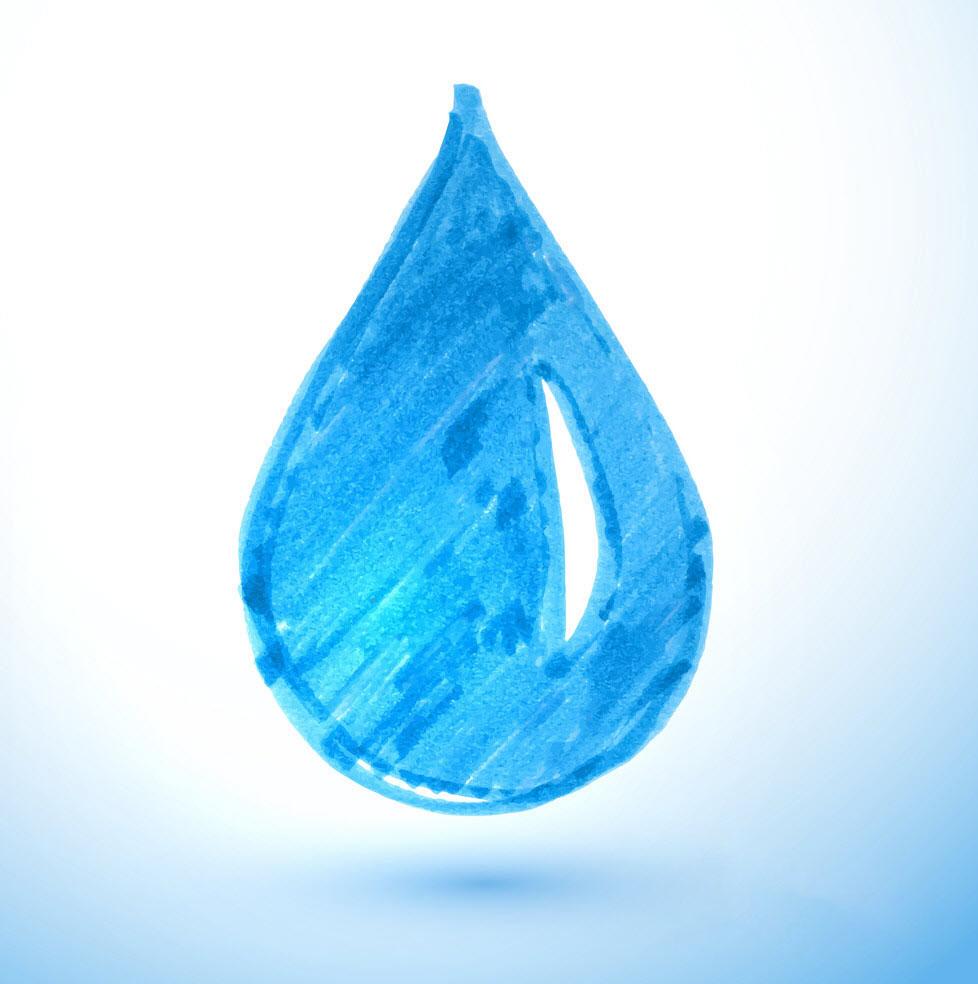 Hình ảnh tô màu giọt nước