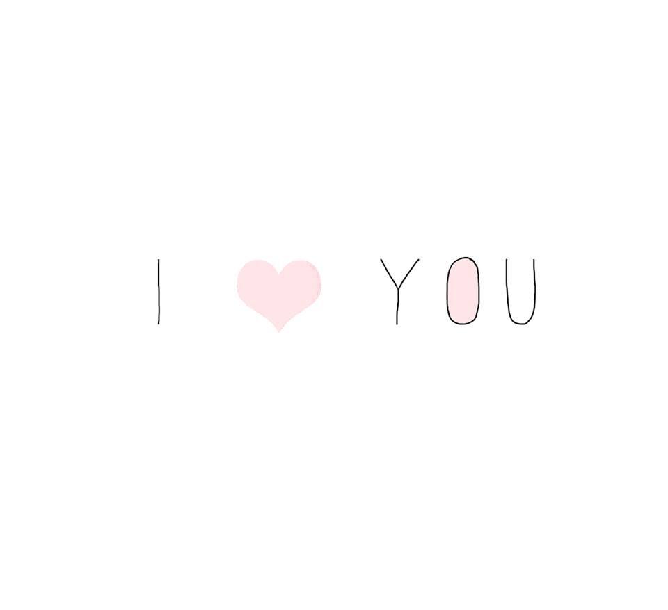 Hình chữ I Love You đẹp nhất