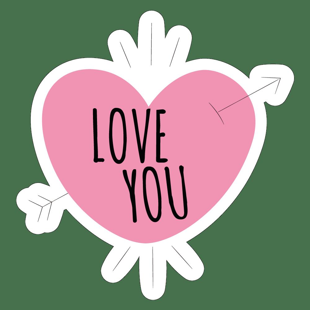 Hình chữ I Love You đẹp