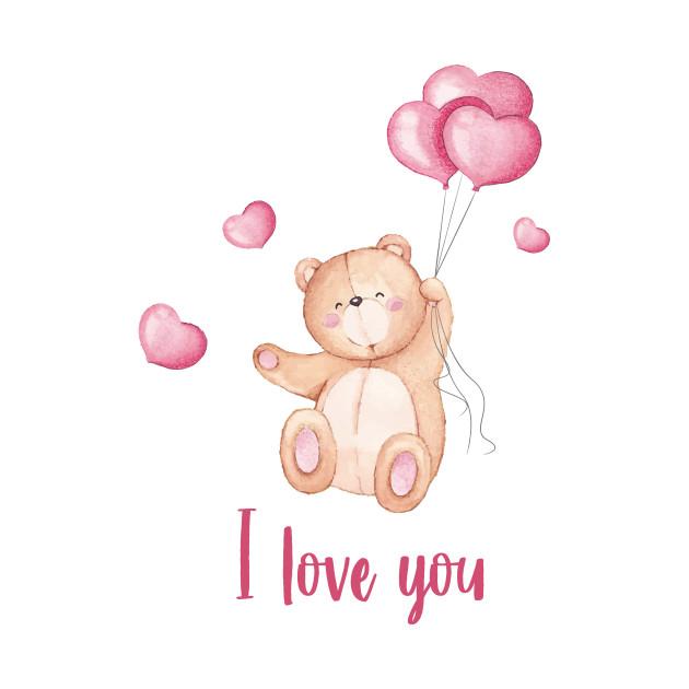 Hình chữ I Love You đơn giản đẹp nhất