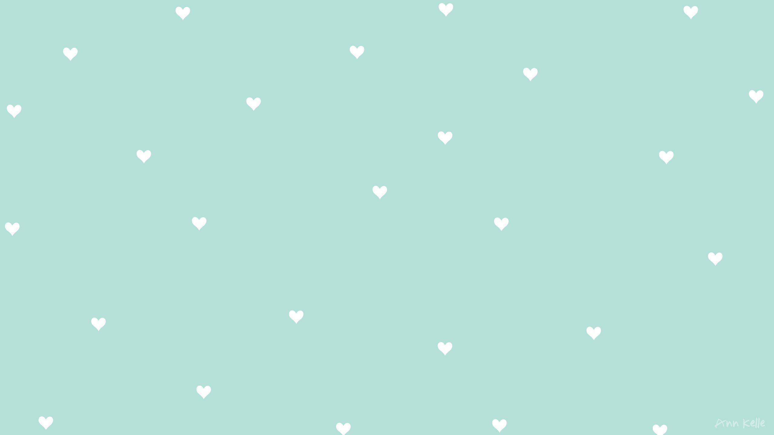 Hình nền 2K màu xanh dễ thương