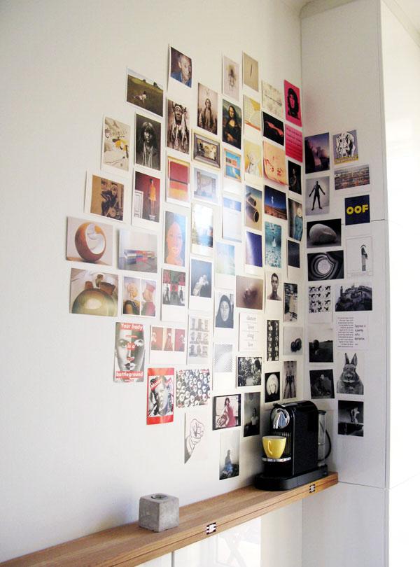 Mẫu trang trí ảnh dán tường