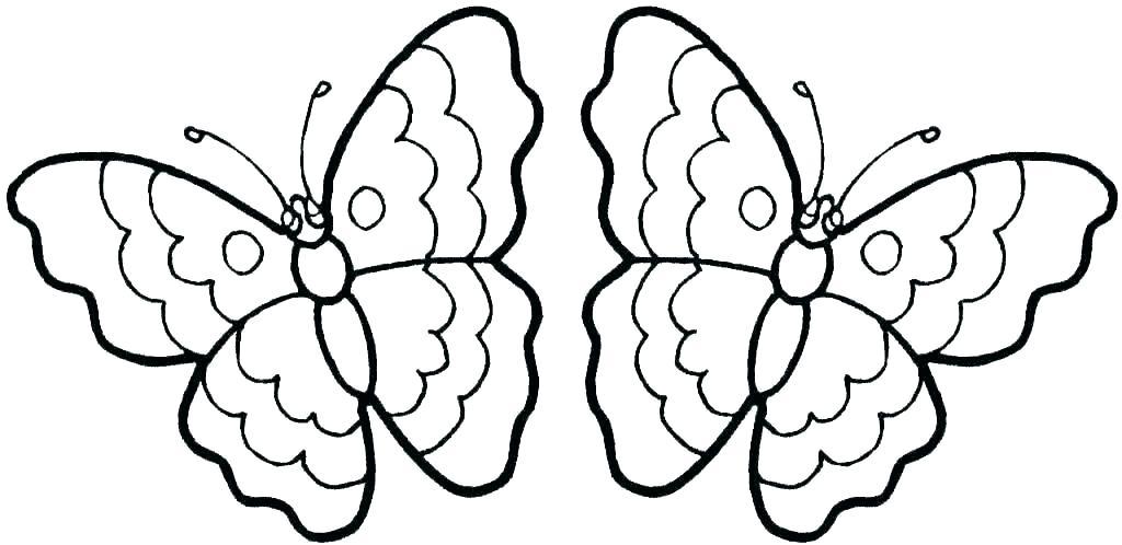 Tranh tô màu con bướm ngộ nghĩnh đẹp nhất