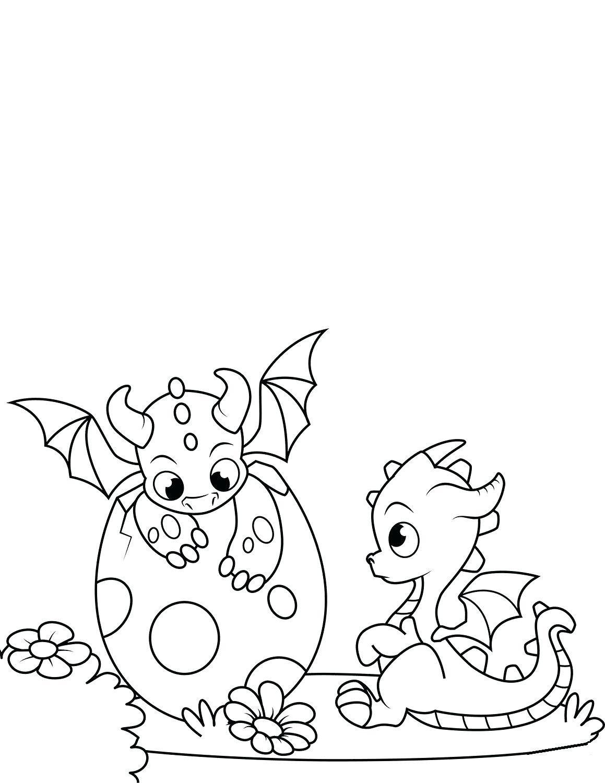 Tranh tô màu hình con rồng cho bé