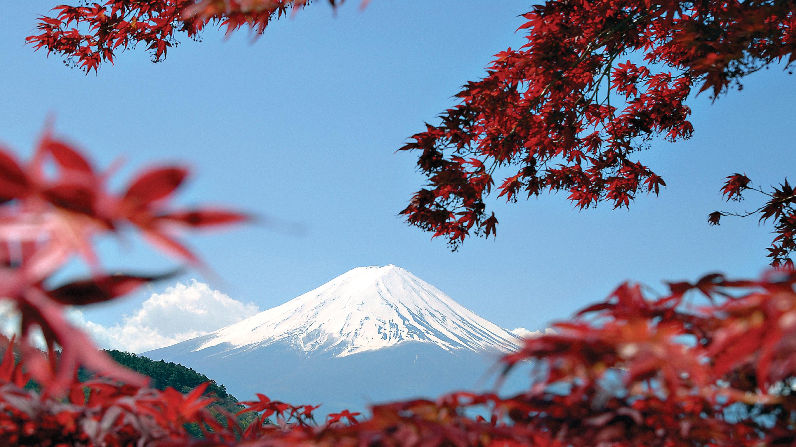 Cảnh đẹp núi Phú Sĩ của Nhật