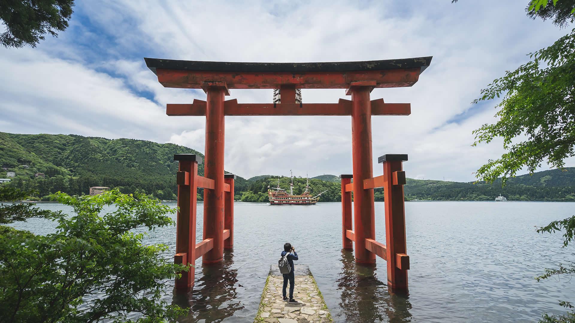 Cổng trời cực đẹp tại Nhật