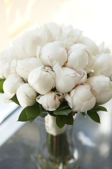 Lọ hoa mẫu đơn trắng đẹp mắt