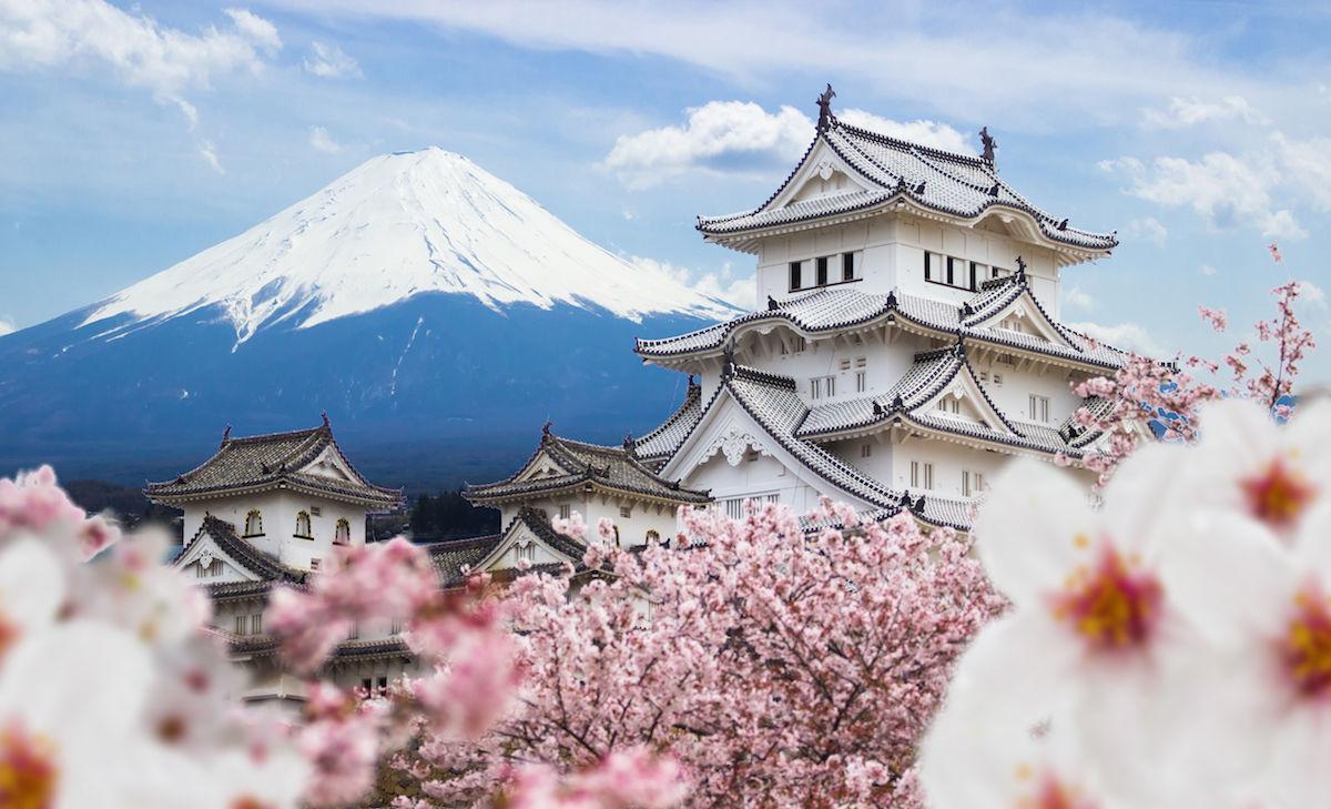 Nhật Bản đất nước văn hóa lịch sử lâu đời - thắng cảnh núi Phú Sĩ