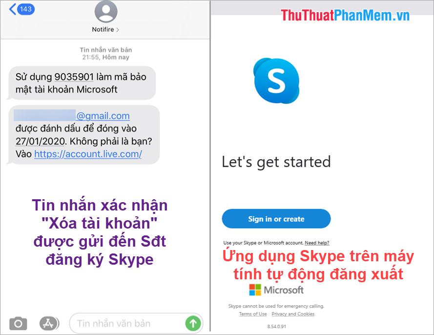 Tài khoản Skype của bạn đến ngày hẹn sẽ được xóa tự động