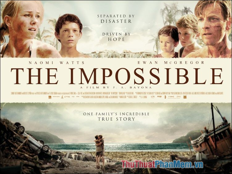 The Impossible – Thảm họa sóng thần (2012)