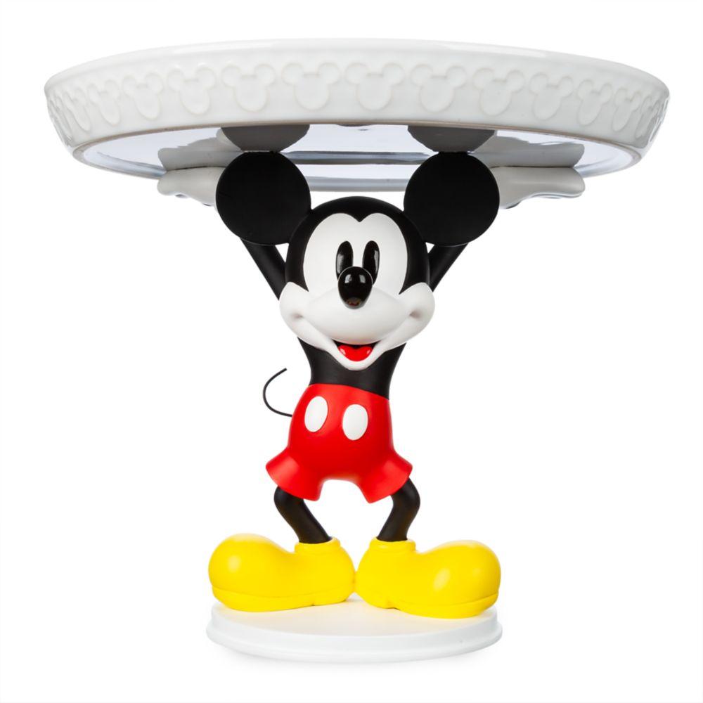 Ảnh chú chuột Mickey nâng đĩa