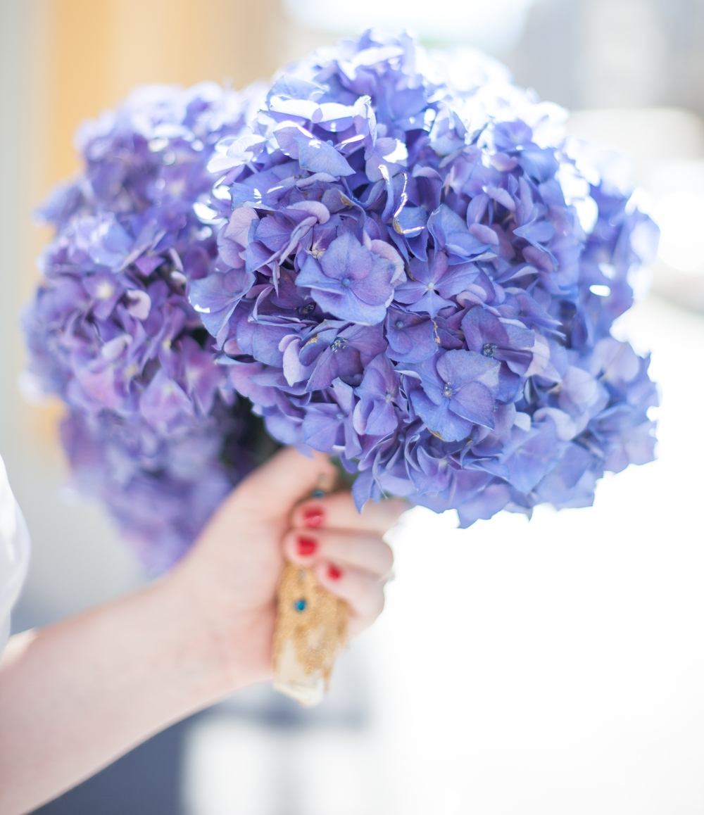 Bó hoa tử đinh hương tím đẹp