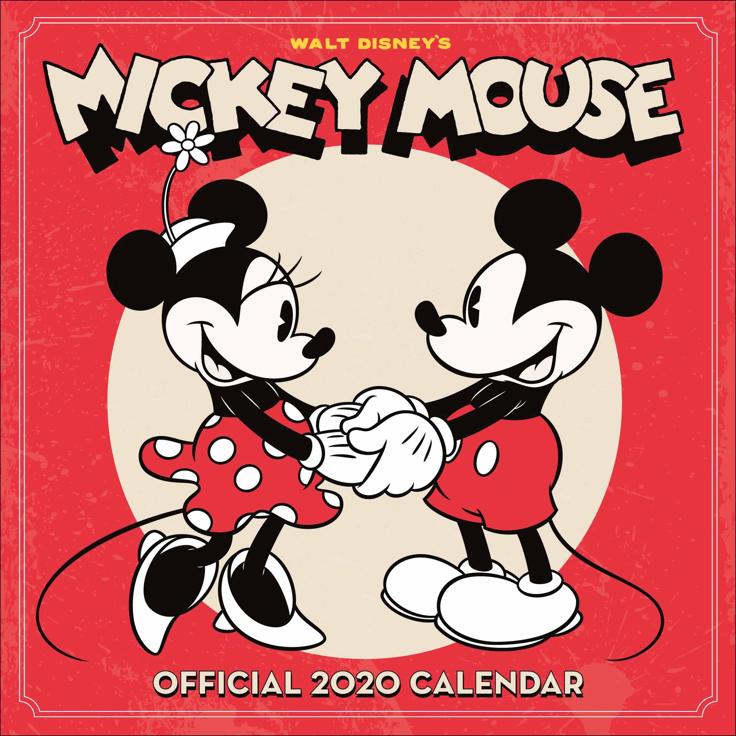 CHuột Mickey cùng nắm tay nhau
