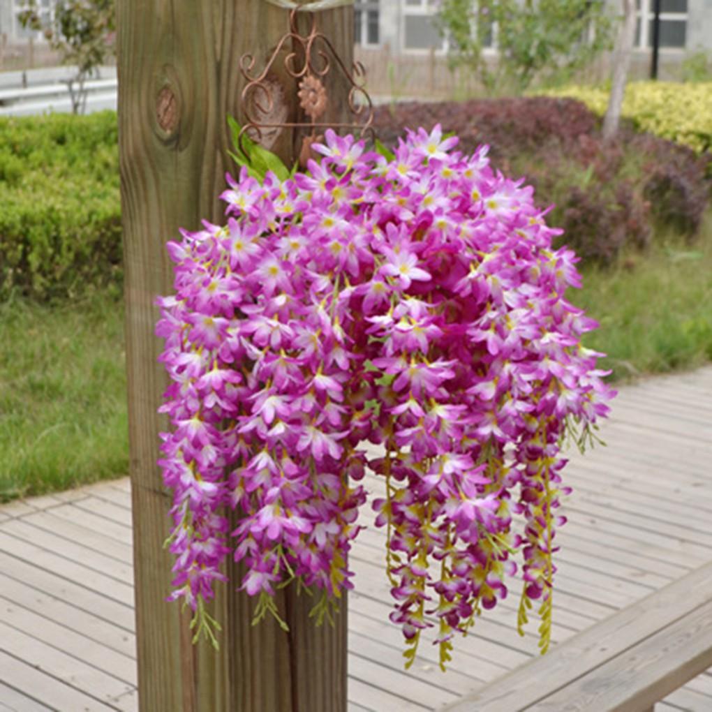 Giỏ hoa treo tử đinh hương đẹp