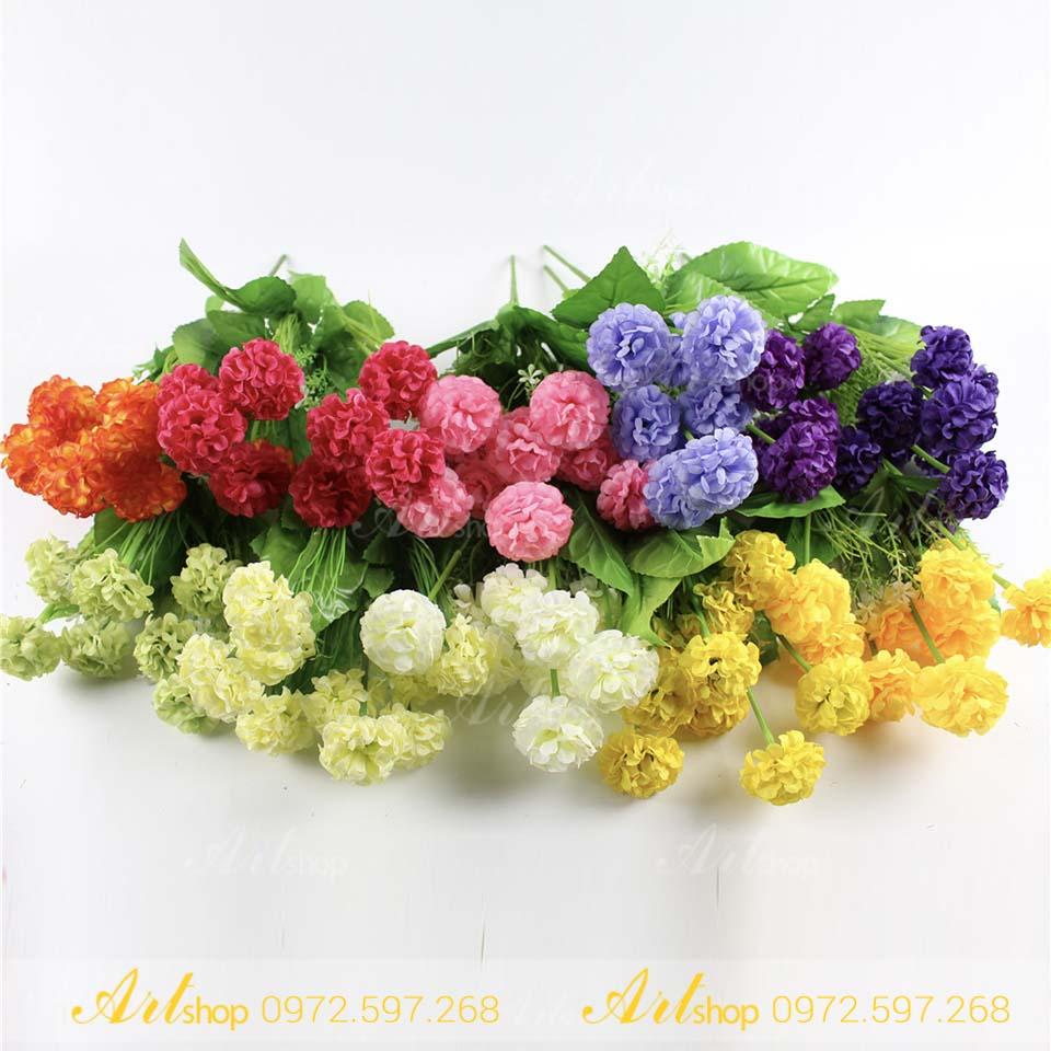 Những bó hoa cúc vạn thọ cực đẹp