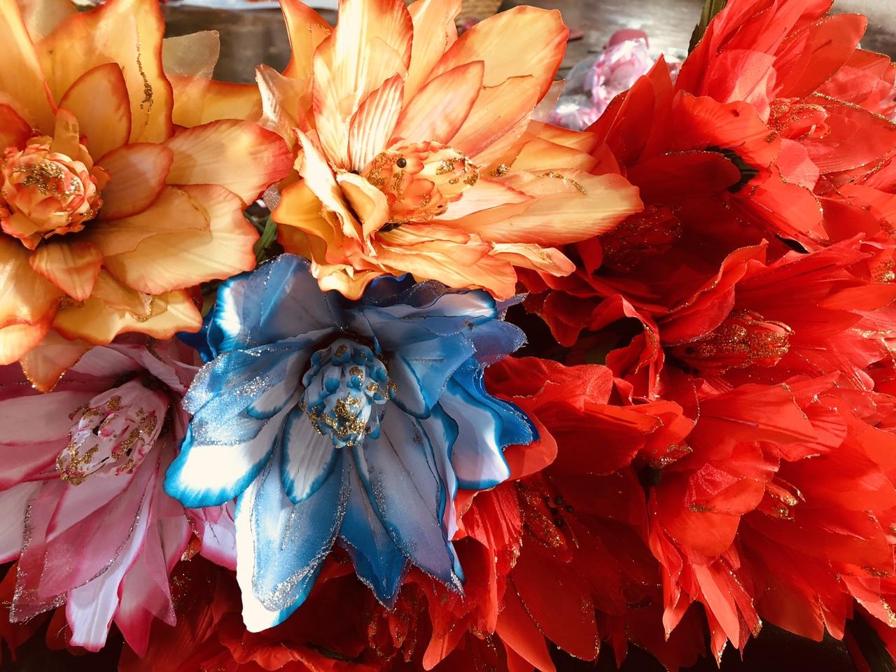 Những bông hoa bất tử làm giả cực đẹp