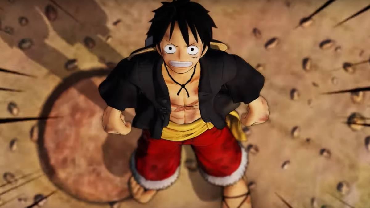 Ảnh 3D Luffy cực chất