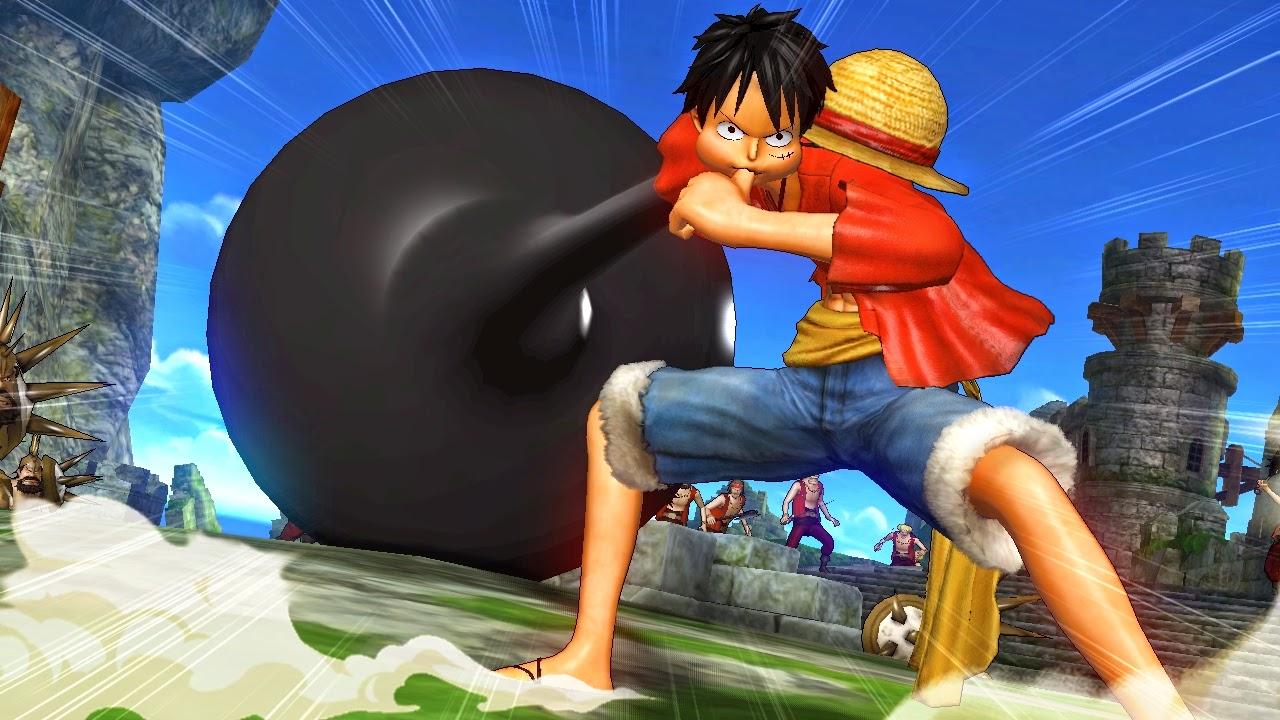 Ảnh 3D Luffy ngộ nghĩnh đáng yêu