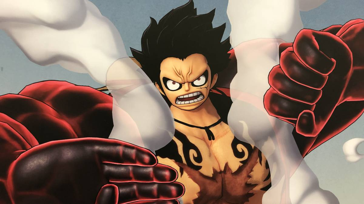 Ảnh 3D Luffy One Piece cực ngầu
