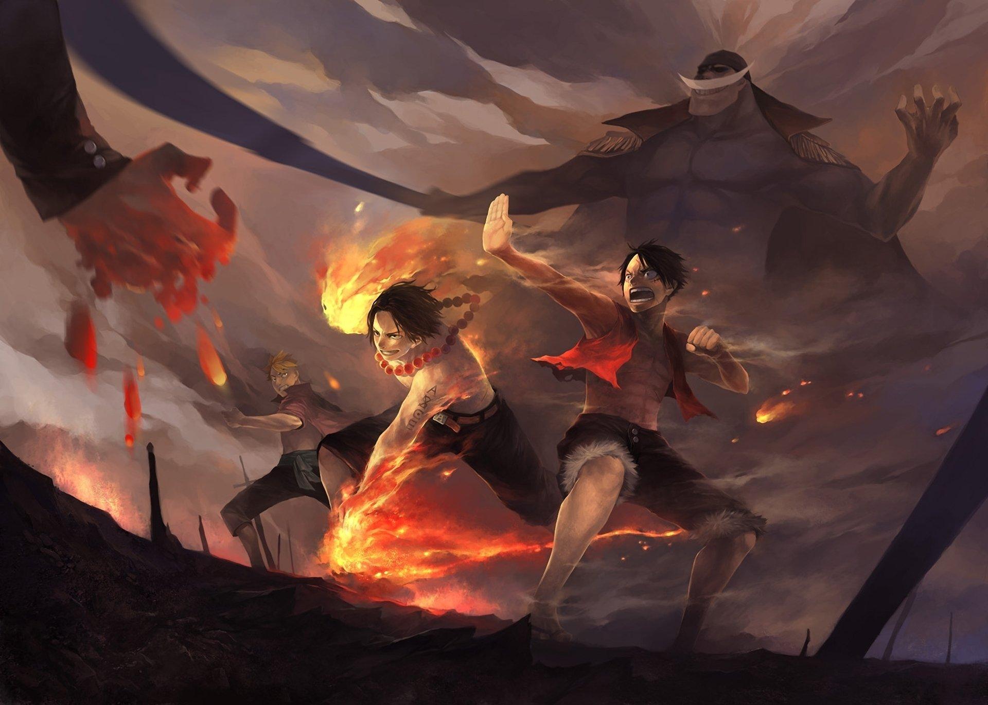 Hình ảnh 3D Luffy đảo hải tặc